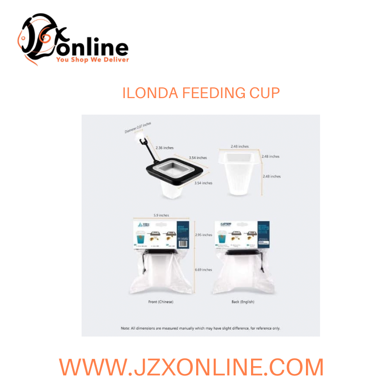 iLONDA Floating Blood Worm Feeding Cup