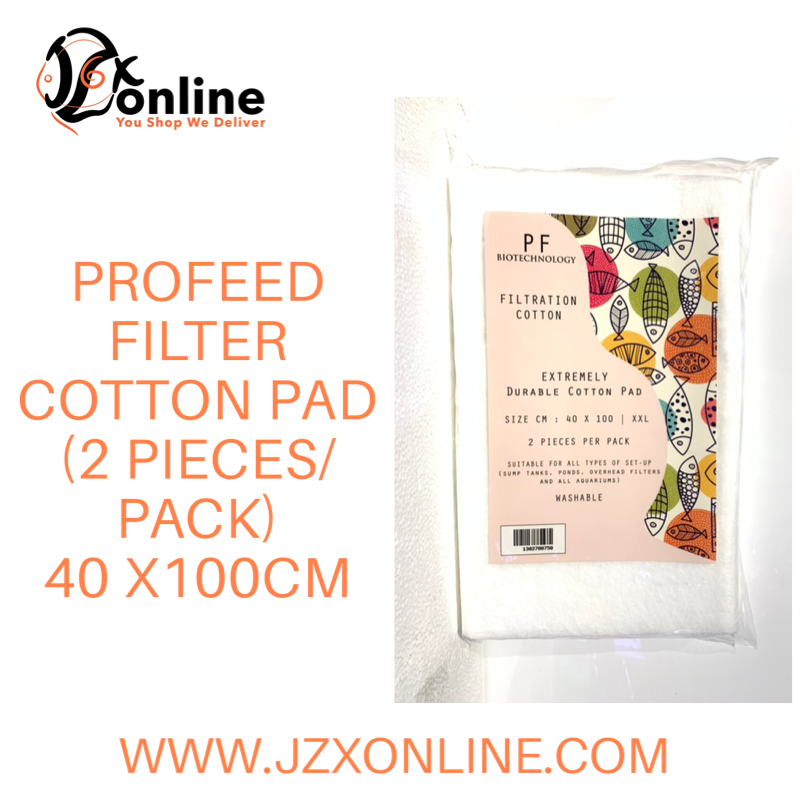 PRO-FEED Filter Cotton Pad (2 pieces/pack) - 40x100cm