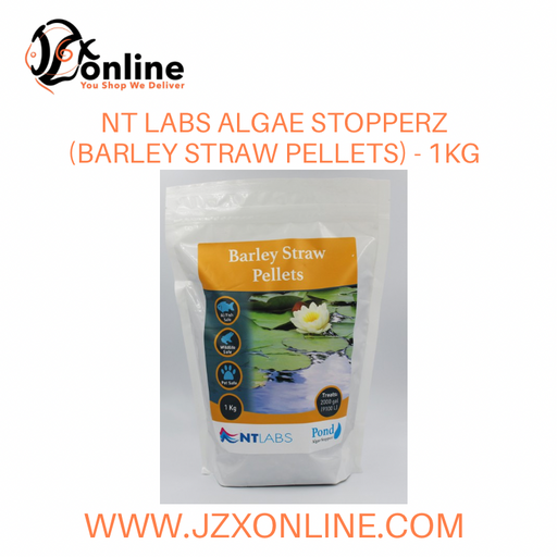 NT LABS Algae Stopperz (Barley Straw Pellets) - 1kgNT LABS Algae Stopperz (Barley Straw Pellets) - 1kg **control green algae and blanket weed in your pond naturally**