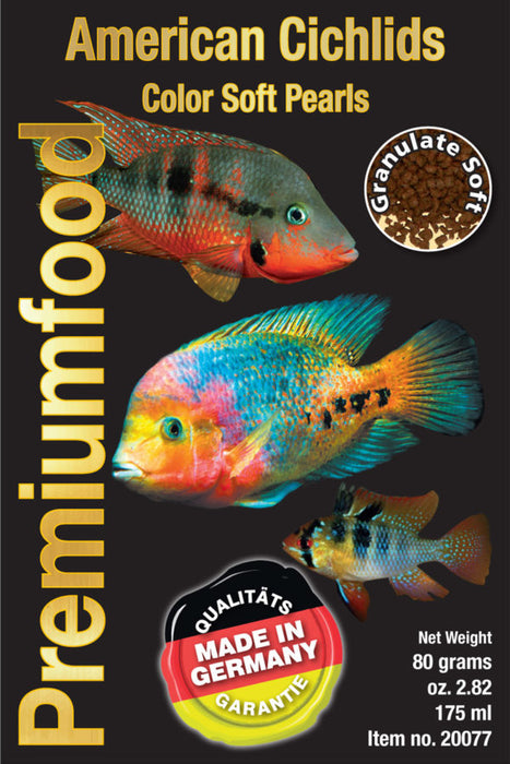 DISCUSFOOD Granulates American Cichlid Colour Pearl 80g