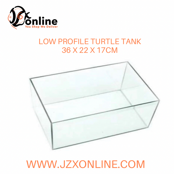 Low Profile Turtle Tank  (36 x 22 x17cm)