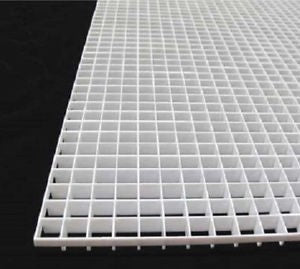 ANS Eggcrate Louver White