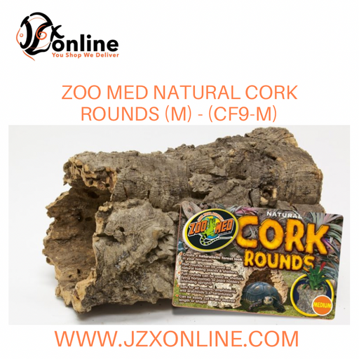 Zoo Med Natural Cork Rounds (M) - (CF9-M)