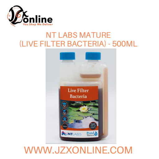 NT LABS Mature (Live Filter Bacteria) - 500ml
