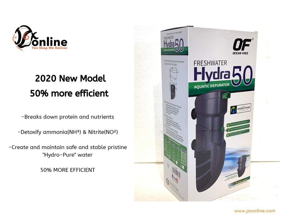 OF® Freshwater HYDRA 50 (15W) - IF123