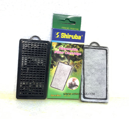 SHIRUBA Cartridge Replacment PF120 (2pcs/box)