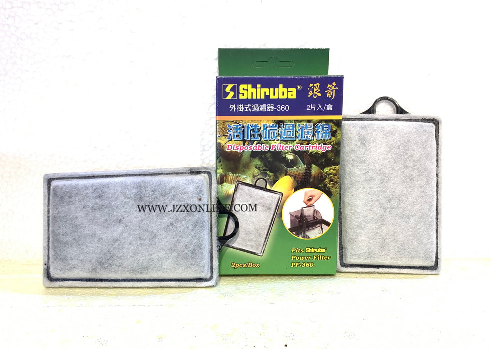 SHIRUBA Cartridge Replacment PF360 (2pcs/box)