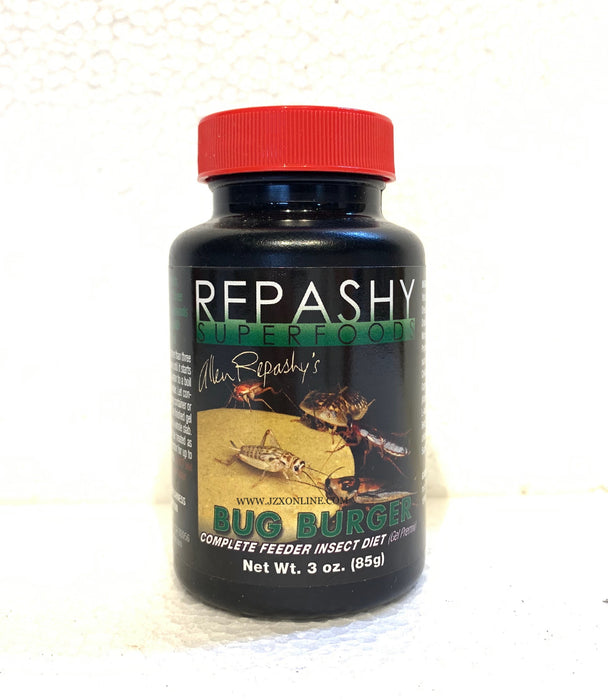 REPASHY SuperFood Bug Burger 3oz - Feeder Insect Diet