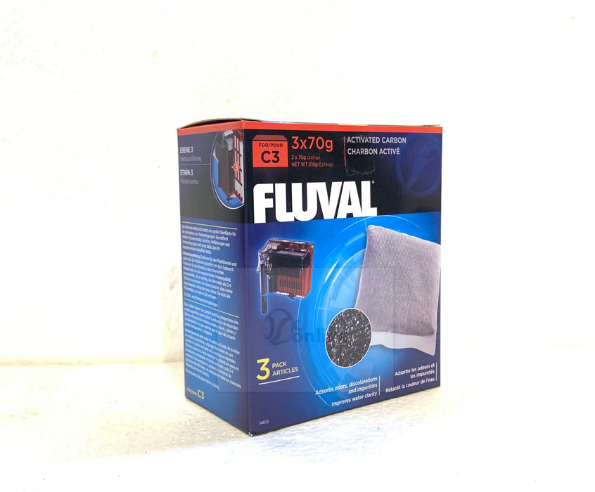FLUVAL C3 Activated Carbon (3 piece/pack)