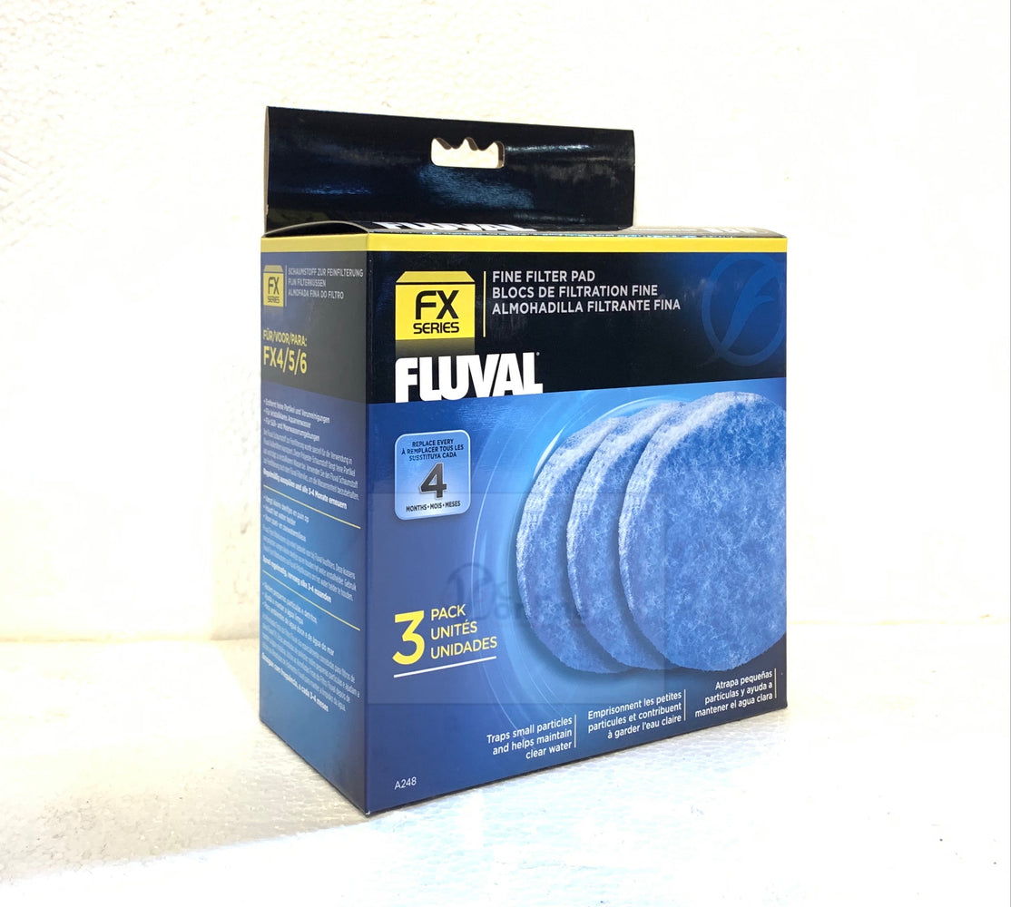 FLUVAL FX4/FX6 Fine Filter Pads (3 pieces/pack)
