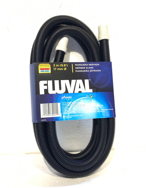 FLUVAL Ribbed Hosing for 306/406, 307/407 Filters, 9.8 ft. (3m)