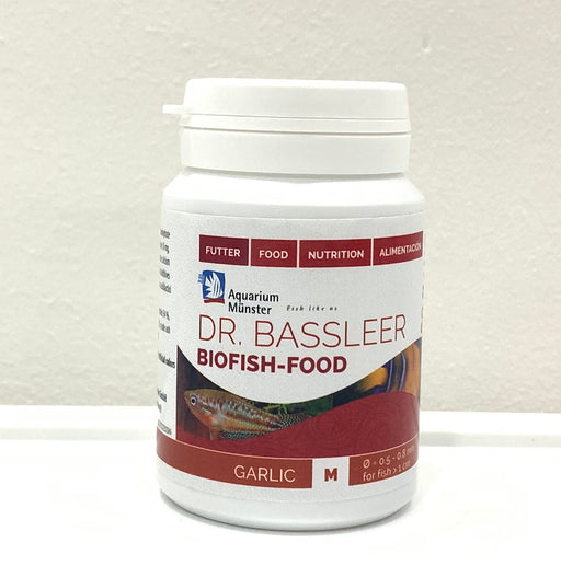DR. BASSLEER BIOFISH FOOD 60g (M) GARLIC