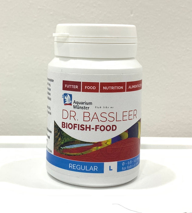 DR. BASSLEER BIOFISH FOOD 60g (L) REGULAR