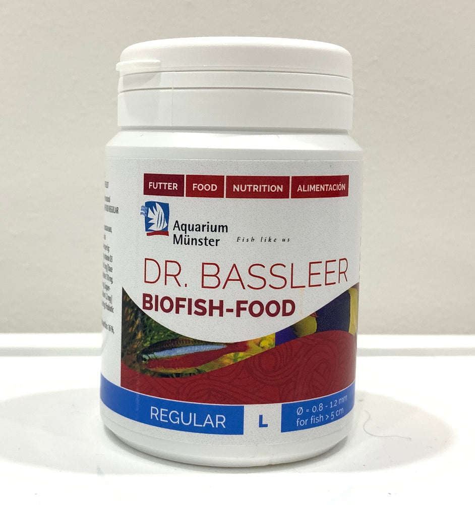 DR. BASSLEER BIOFISH FOOD 150g (L) REGULAR