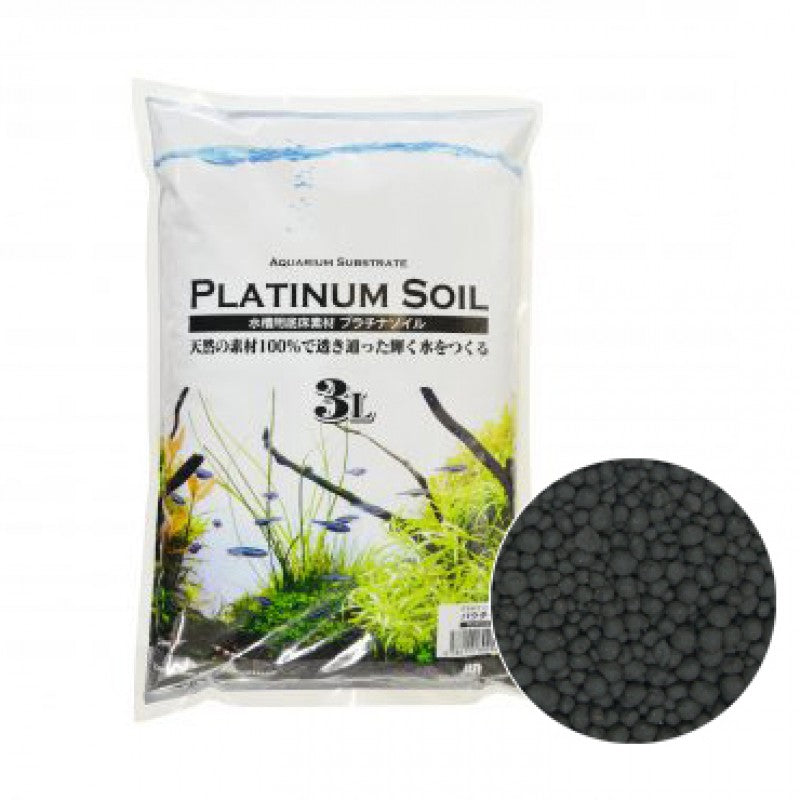 JUN Platinium Soil 3L Black Powder