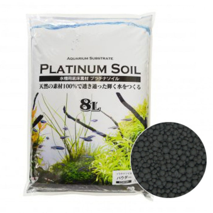 JUN Platinium Soil 8L Black Powder