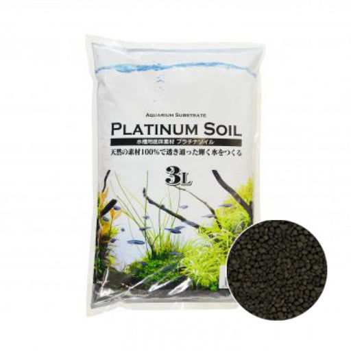 JUN Platinium Soil 3L Black Super Powder