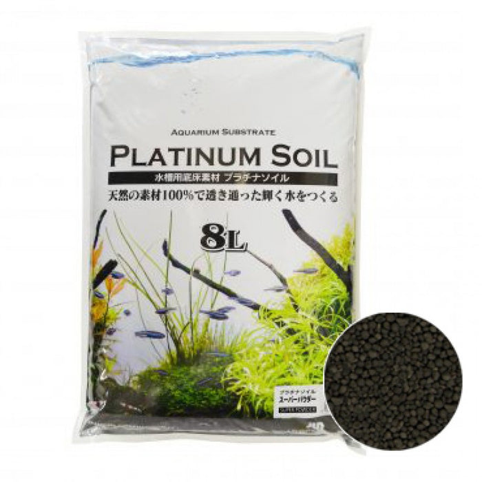 JUN Platinium Soil 8L Black Super Powder