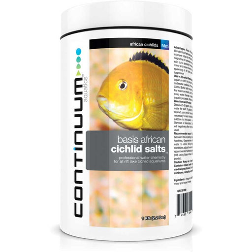 CONTINUUM Basis African Cichlid Salts 250g