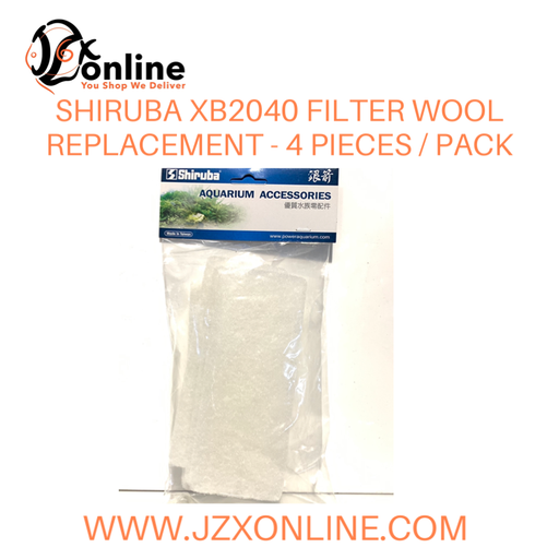 SHIRUBA Wool Replacement for XB2040 (4pcs/pack)