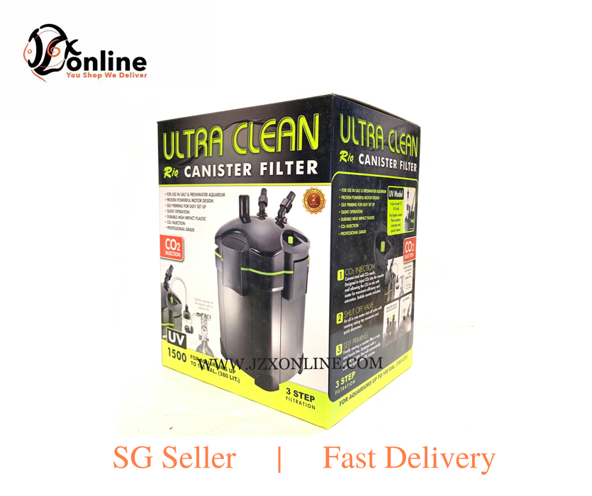 RIO UC-3000UV Ultra-Clean Canister Filter
