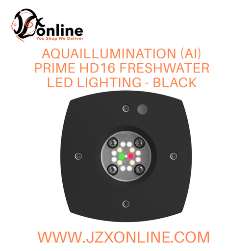 Aquaillumination (AI) Prime HD16 Freshwater LED Lighting - Black