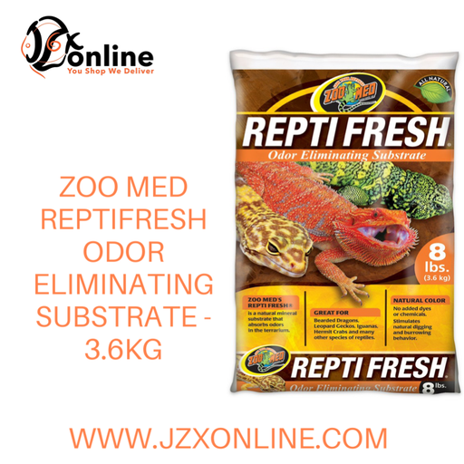 Zoo Med ReptiFresh Odor Eliminating Substrate - 3.6kg