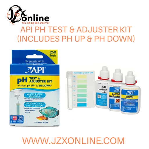 API PH TEST & ADJUSTER KIT(Includes pH down & pH up)