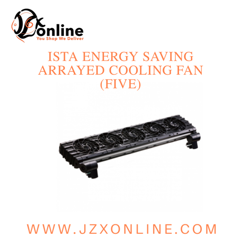 ISTA energy saving arrayed cooling fan (Five)