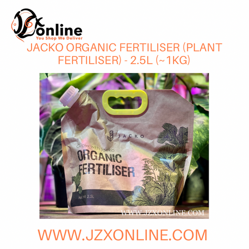 JACKO Organic Fertiliser (Plant Fertiliser) - 2.5L (~1kg)