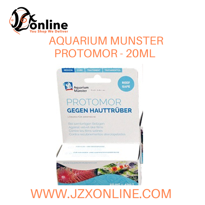 AQUARIUM MUNSTER Protomor - 20ml (Treats Velvet Disease - Reef Safe!)