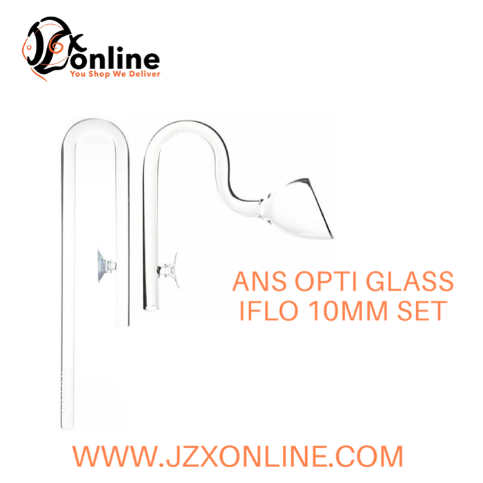 ANS OPTI GLASS IFlo 10mm Set (In and Out)