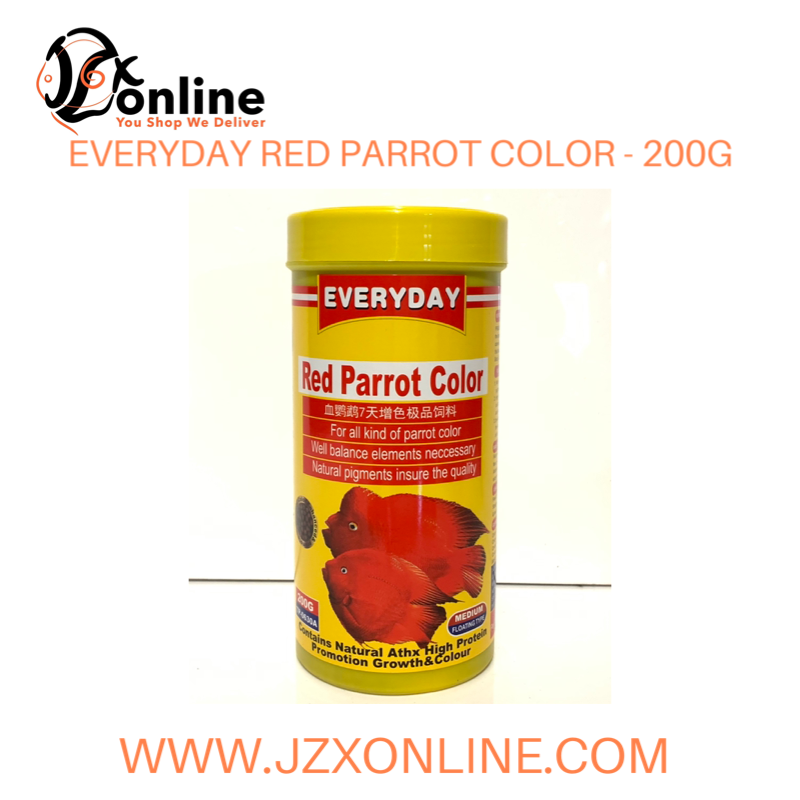 EVERYDAY Red Parrot Color (Floating)- 200g