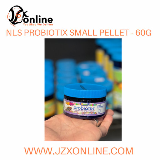 NLS  NEW LIFE SPECTRUM® Probiotix Small Sinking Pellet (0.5mm-0.75mm) - 60g