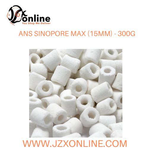 ANS Sinopore Max (15mm) with filter bag - 300g