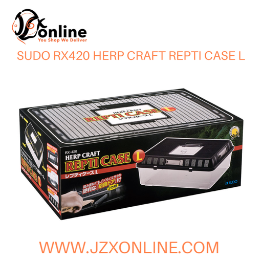 SUDO RX420 HERP CRAFT REPTILE CASE L