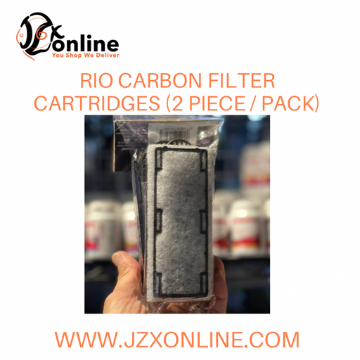 RIO Carbon Cartridge Refill (2 Pieces / Pack) - For Rio Slim HOB Filters