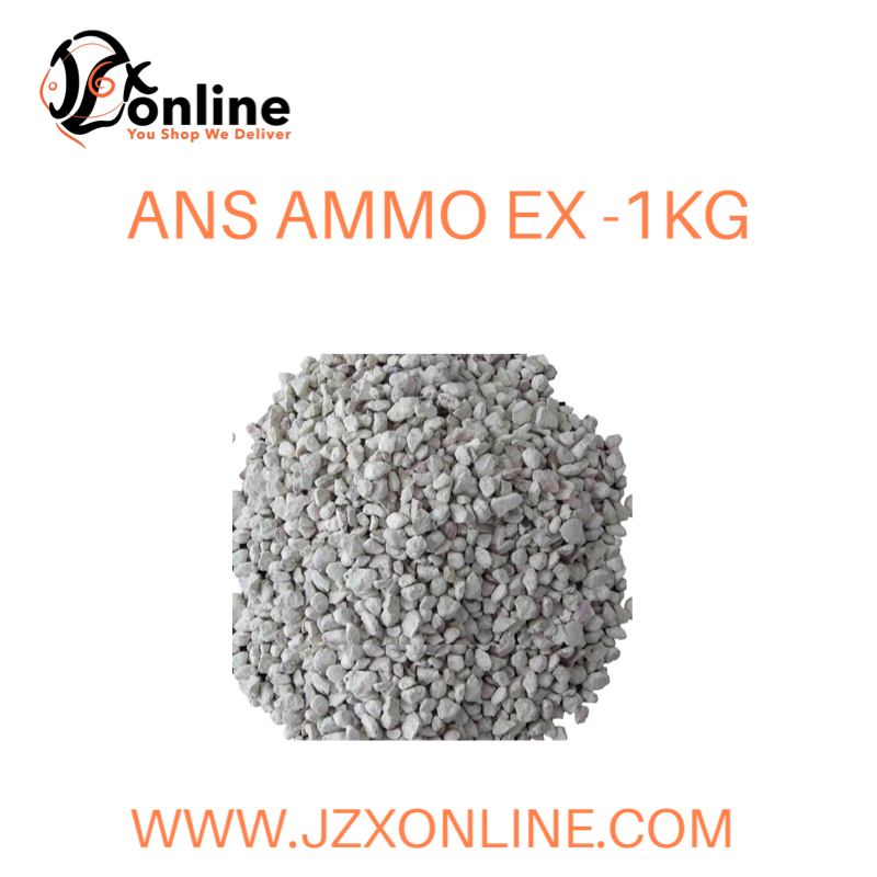 ANS Ammo Ex - 1kg (with filter bag)