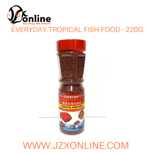 EVERYDAY Tropical Fish Food - 220g