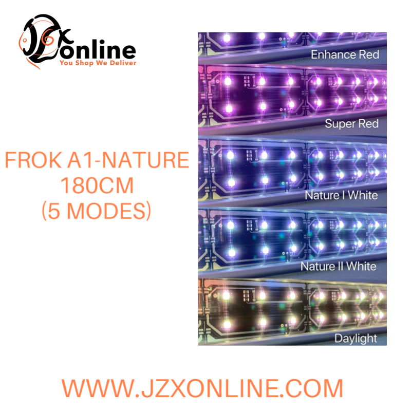 FROK A1-Nature 180cm LED Light (5 modes)