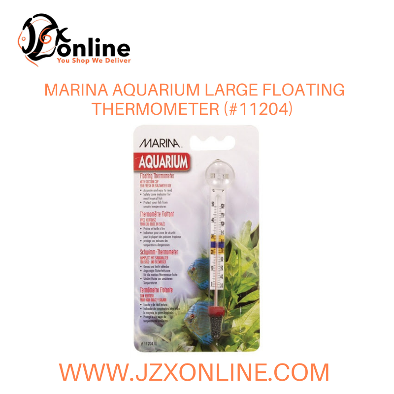 MARINA AQUARIUM Large Floating Thermometer (#11204)
