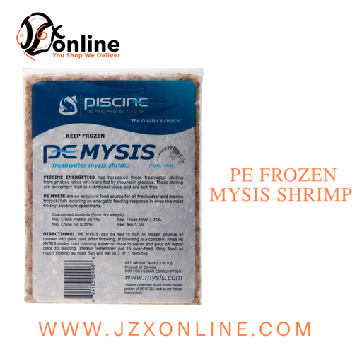 PE Frozen Mysis Shrimp 8oz
