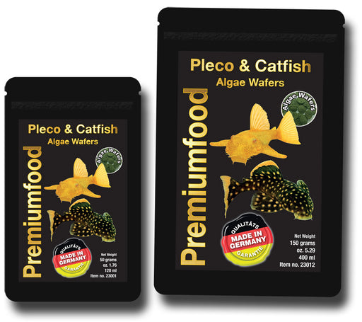 DISCUSFOOD Pleco/Catfish Algae Wafers 50g