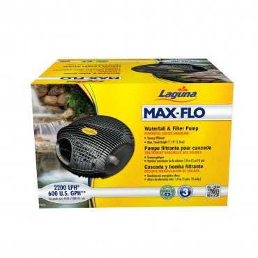 LAGUNA Max-Flo 600 Waterfall and Filter Pump
