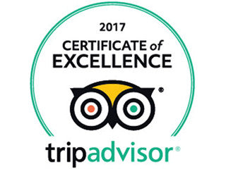 Bunkers wins Trip Advisor Excellence 2017