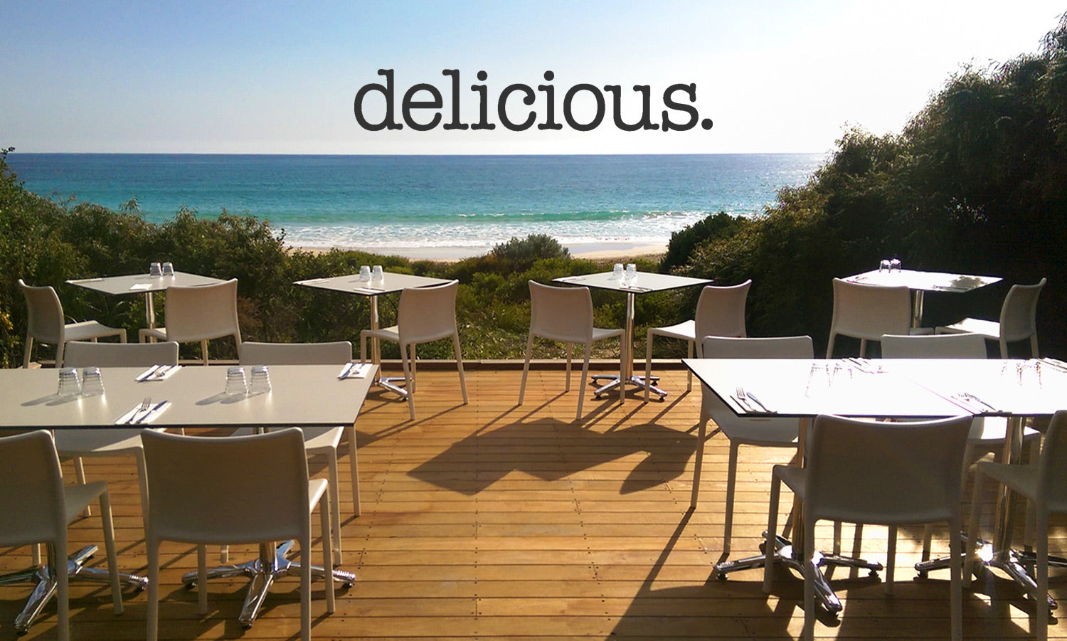 Delicious magazine has an 'OMG moment' at Bunkers Beach House