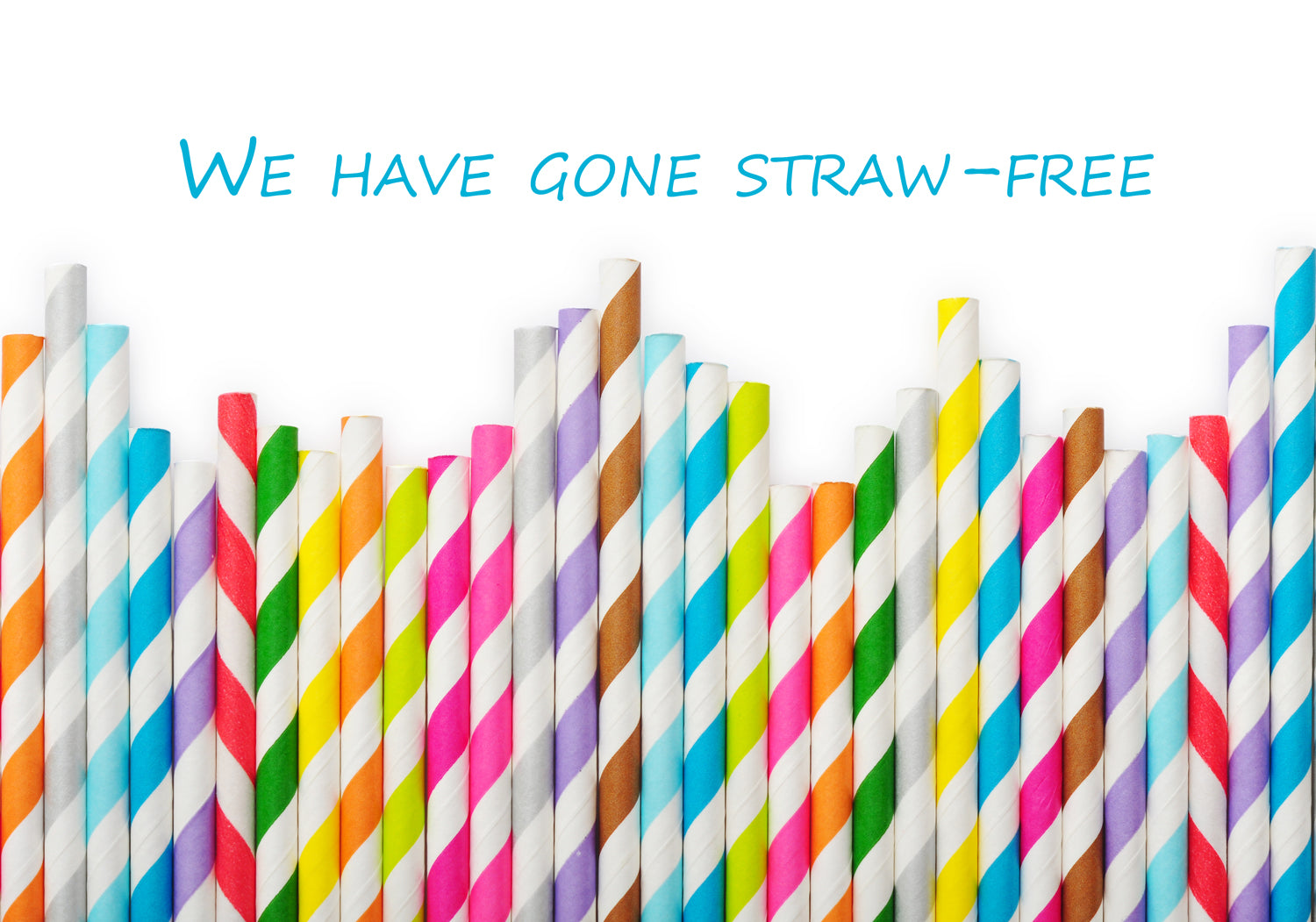 Bunkers Beach House has gone straw-free!