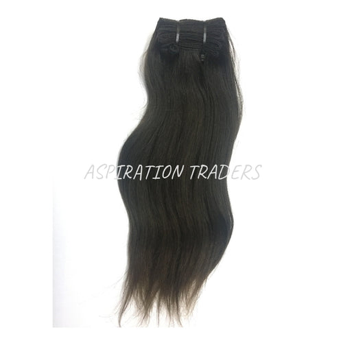 Natural Straight Hair Extensions - Aspiration Traders