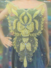 Load image into Gallery viewer, Net Lace  Beaded Blouse - BB020 - Aspiration Traders