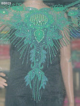 Load image into Gallery viewer, Net Lace Beaded Blouse - BB025 - Aspiration Traders